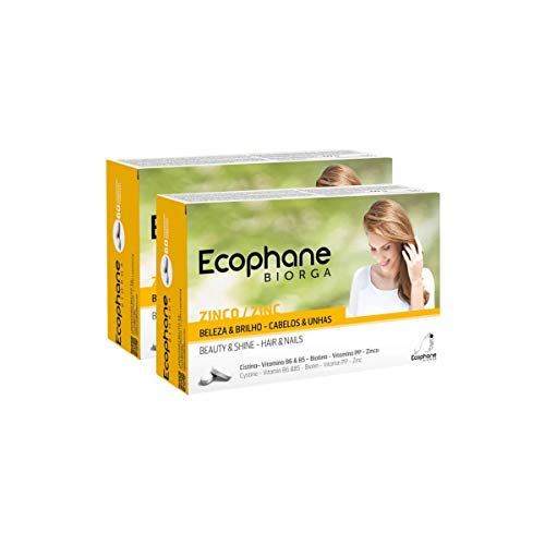 Ecophane Hair And Nails 2x60caps