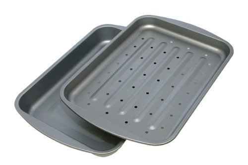 OvenStuff Non-Stick Bake and Roasting Pan, Large by OvenStuff