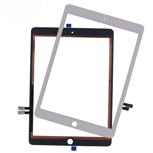 Touch Screen Digitizer Front Outer Panel Glass for iPad 6 6th Gen A1893 A1954 9.7'' (2018) (White)