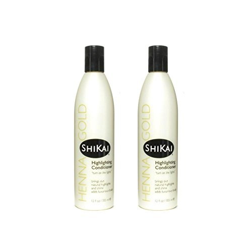 Highlighting Conditioner, 12 fl oz (Pack of 2) (Shikai Henna)