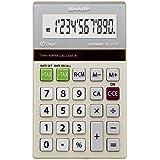Calculadora de 10 Dígitos e Dupla Alimentação Sharp, Branco