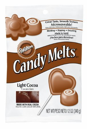 Light Cocoa Candy Melts-Wilton-1911-1528W