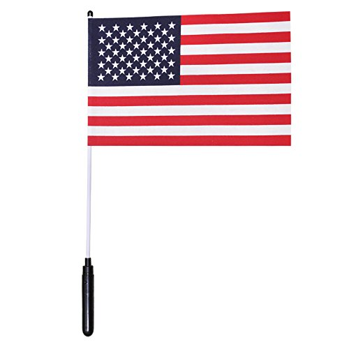Windy City Novelties LED USA American Flag - Light Up 8
