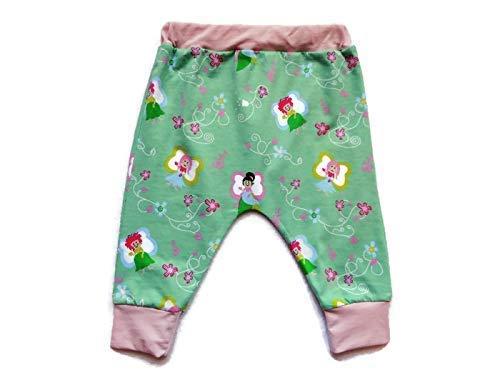 6e60808f7fdb1 Sarouel Bébé Fille 12 Mois Fées Vert Menthe Jersey Coton Biologique  Pantalon Bébé Fille