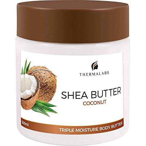Shea Butter Organic Coconut Oil Cream for Face, Body & Hand. Stretch Marks & wrinkle Removal, Psoriasis & Eczema Treatment Lotion: Sheabutter Moisturizer Boost with Natural Ingredients (500ml 17oz) ()