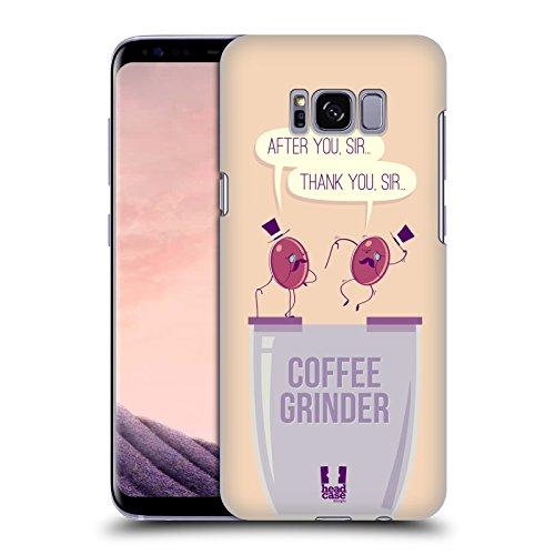 Head Case Designs Grinder Waggish Coffee Bean Hard Back Case for Samsung Galaxy S8