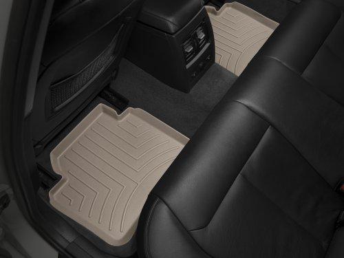 WeatherTech Custom Fit Rear FloorLiner for Jeep Wrangler, Tan