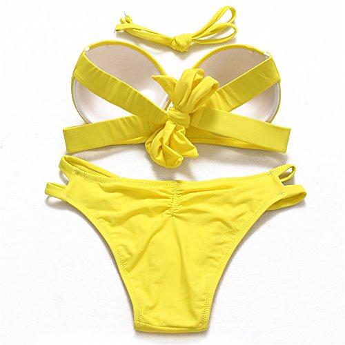 JOTHIN - Conjunto - para mujer amarillo