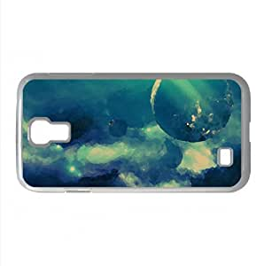 Blue Galaxy Watercolor style Cover Samsung Galaxy S4 I9500 Case