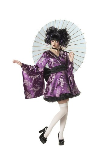 Dragon Geisha Halloween Costume (Lovely Lolita Geisha Adult Costume - Medium)