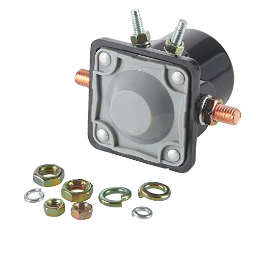 Outboard Motor Evinrude Johnson Parts - MIDIYA Starter Relay SMR6003 Starter Solenoid Switch Used On OMC Marine Outboards/Inboard Power Tilt/Johnson/Trim Motorr Applications Evinrude Outboard Motor for Insulated Ground 4-Terminal 12 V