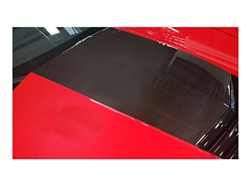 2015 2016 Z06 Z07 Corvette Stingray C7 Carbon Fiber B92 Stinger Hood Decals Stripes (Carbon Fiber Hood Stripe)