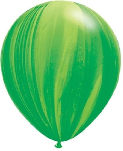 LoonBalloon GREEN Light SWIRL (6) 11