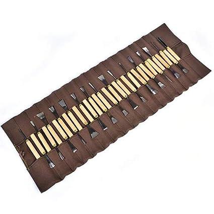 31PCS/Set herramientas de tallado kit de cuchillo 1,0 0.5 cm ...