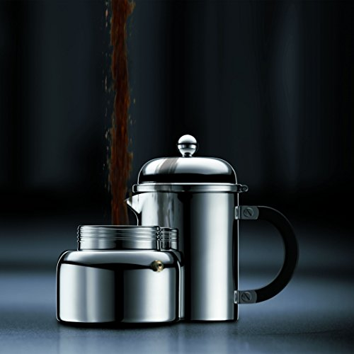 Bodum Chambord 12-Ounce Stainless-Steel Stovetop Espresso Maker by Bodum (Image #1)