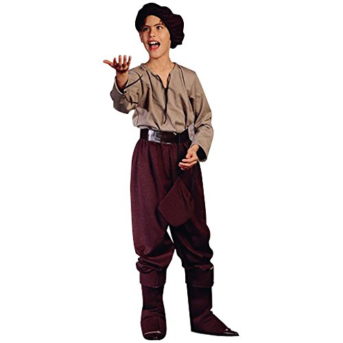 Child Renaissance Peasant Boy Costume (Child's Renaissance Peasant Boy Halloween Costume (Size: Small 4-6))