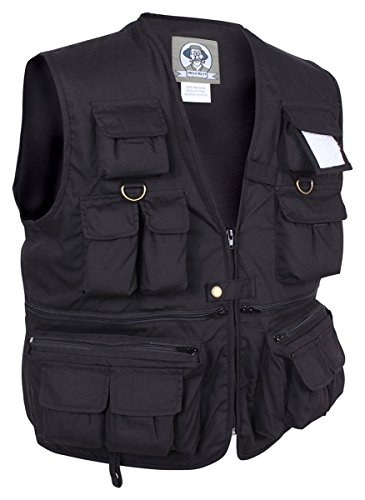 Uncle Milty Vest, Black, X-Large