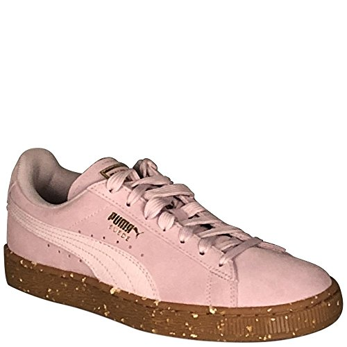 Sneakers FT Team M 7 Lilac B Snow Women's Gold PUMA US Suede Fashion Classic q8wxUXt