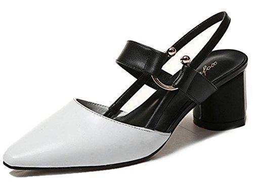 white Baotou Baotou white Sandals YTTY Baotou 35 35 YTTY white Sandals Sandals YTTY qtzAzxPgfw