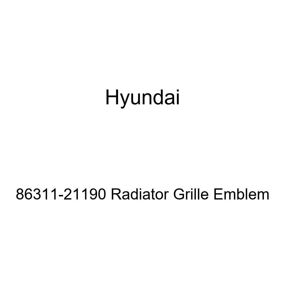HYUNDAI Genuine 86311-21190 Radiator Grille Emblem