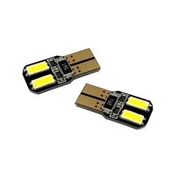 T10C4WS - Blanca de Canbus SMD LED lámpara bombilla de repuesto luces de posición W5W T10