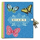 eeBoo Beautiful Lock Diary