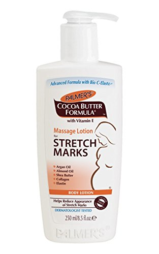 Palmer's Cocoa Butter Formula Massage Lotion For Stretch Marks with Vitamin E and Shea Butter Women Body Lotion, 8.5 Ounce