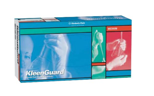 Kimberly-Clark KleenGuard G10 Nitrile Glove, Powder Free, 9.5'' Length, X-Large (Pack of 90) by Kimberly-Clark Professional