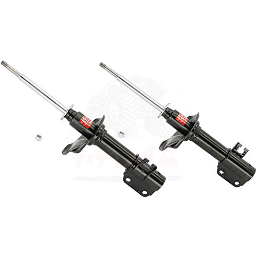 KYB Quick Mount Kit of 2 Struts Front fits GEO Metro 1989-95 GR-2 EXCEL-G Twin Tube Gas Charged for Replacement, Performance, Leveling, Touring & 4x4 Offroad