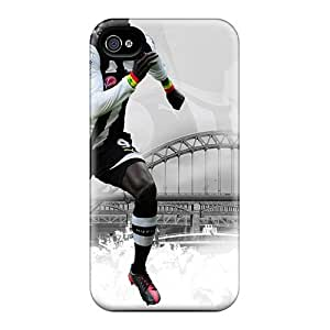 Durable Protector Case Cover With The Famous Football Team England Newcastle United Hot Design For Iphone 4/4s