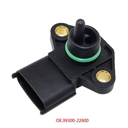 qotone Durable 39300-22600 Replacement for Hyundai KIA Manifold Pressure (MAP) Sensor Car Pressure Sensors