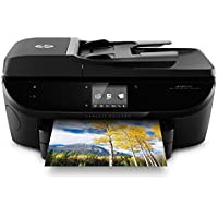 HP E4W44A ENVY 7645 e-All-in-One Printer, Black (Certified Refurbished)