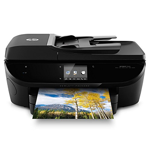 HP E4W44A ENVY 7645 e-All-in-One Printer, Black (Certified Refurbished)