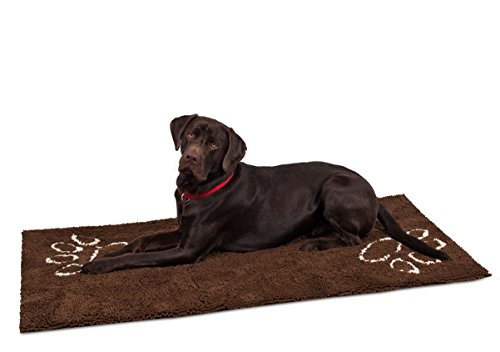 Internet's Best Chenille Dog Doormat - 60 x 30' - Absorbent Surface - Non-Skid Bottom - Protects...