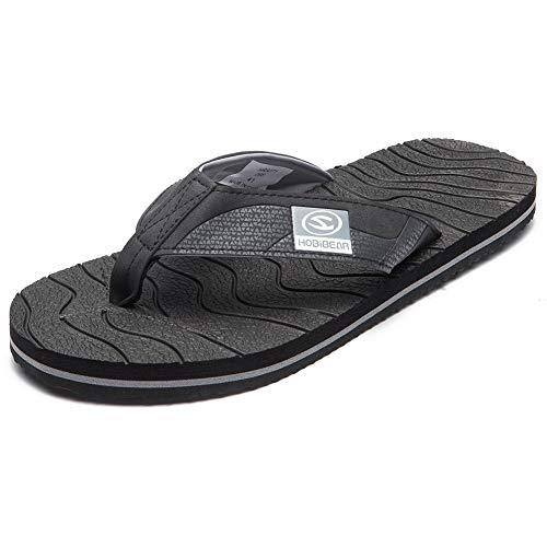 - BODATU Mens Summer Lightweight Flip-Flop Casual Thong Sandals