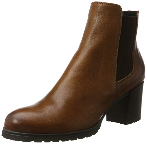 Geox D New Lise D, Stivali Chelsea Donna Marrone (Brown)