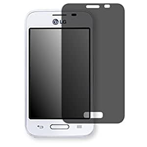 Golebo Screen Film for Privacy protection black for LG L40 - PREMIUM QUALITY
