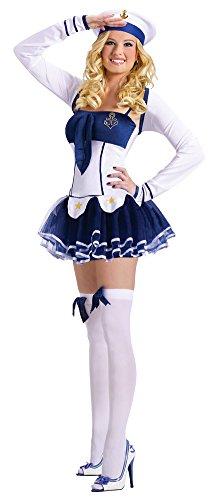 BESTPR1CE Womens Halloween Costume- High Seas Hottie Adult
