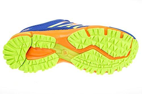 gibra - Zapatillas de sintético/textil para hombre Azul - azul y naranja