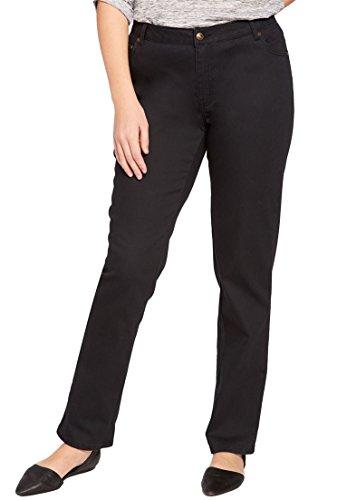 Petite Woven Jeans - 3