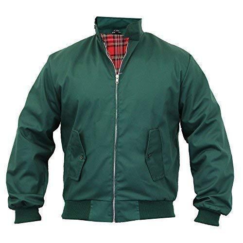 Men's Jacket Harrington Green UK 2X Large/US X Large