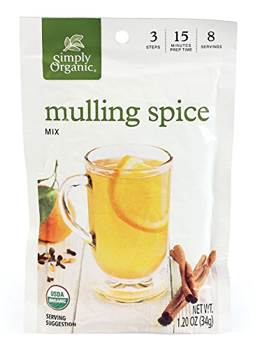 Simply Organic Mulling Spice, 1.20-Ounce Pouch (Pack of (Mulled Spice)