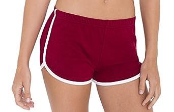 American Apparel womens Interlock Running Short 7301