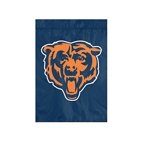 The Party Animal NFL Chicago Bears NFL Garden Flag, Blue, 18