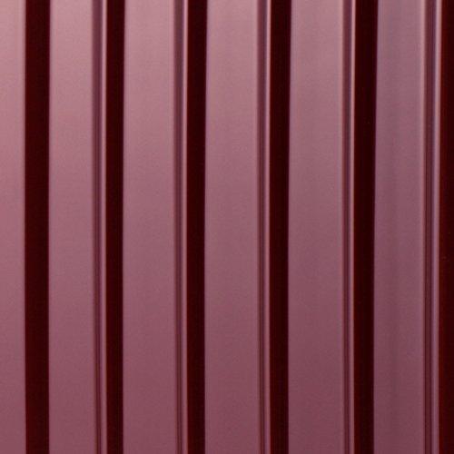 HAUPTSTADTKOFFER® 42 Liter (ca. 55 x 37 x 24 cm) · Handgepäck · XBERG HK-8280 · TSA Schloss · Farbe: ROT GLANZ