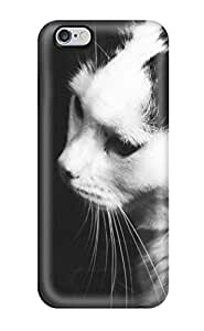 Agor F. Family's Shop Best Defender Case For Iphone 6 Plus, Black And White Cat Pattern 3399086K89062043