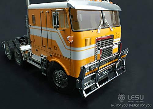 LESU 1/14 トラックトレーラー タミヤ アメリカントラック 金属製アニマルガード グレードアップパーツ G-6060 B07STJ4L4B
