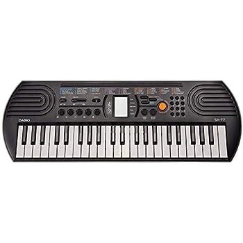 Casio Inc. 44 Key Casio SA-77 44 Key Mini Personal Keyboard 44 Key (