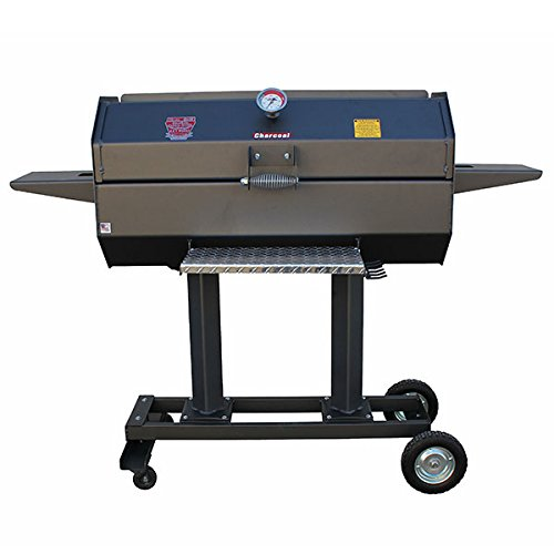 (R&V WORKS SCG40C 40 Inches Smokin' Cajun Charcoal Stainless Steel Grill)