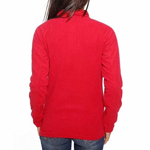 Geographical Norway - Micro Polaire Femme Geographical Norway Techouva Rouge